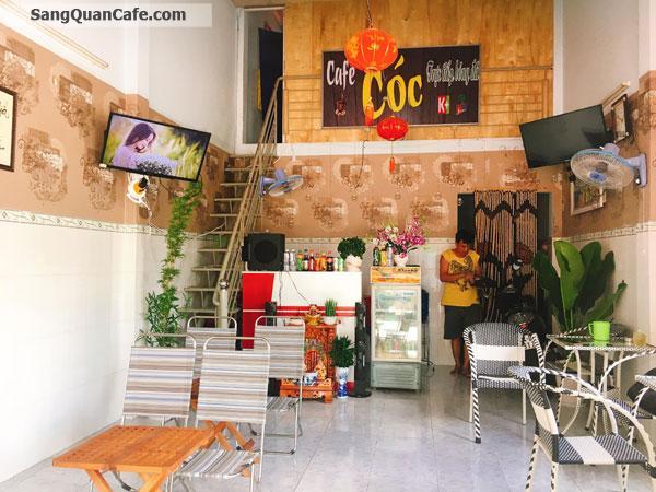 Sang quán cafe vị trí đẹp mặt tiền giá rẻ