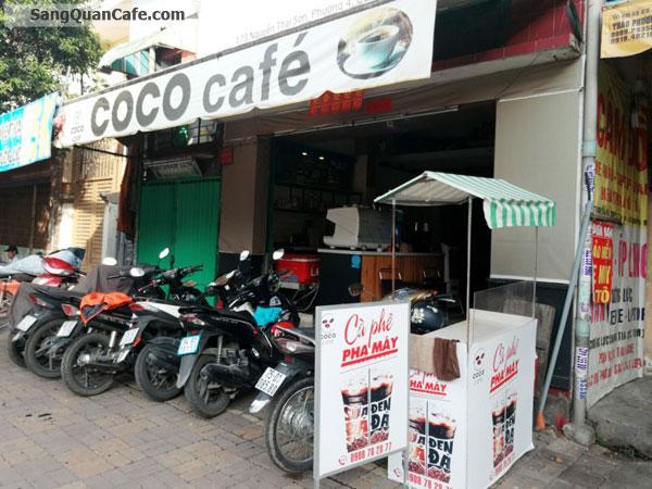 Sang quán cafe mặt tiền đường Nguyễn Thái Sơn