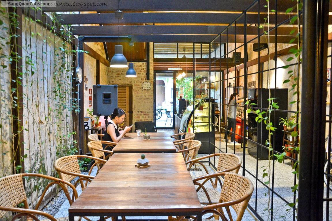 Cho thuê quán cafe shophouse decor sẵn