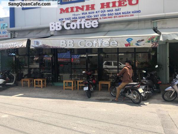Sang lại quán Cafe đang hoạt động tốt