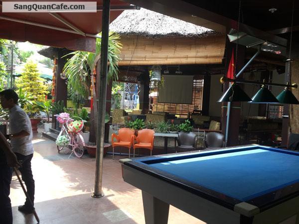 Sáng quán cafe sân vườn 500m2, MB 5 triệu/ tháng