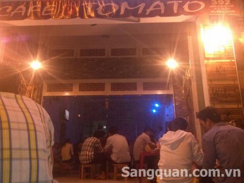 sang quán cafe mặt tiền đường Cây Trâm