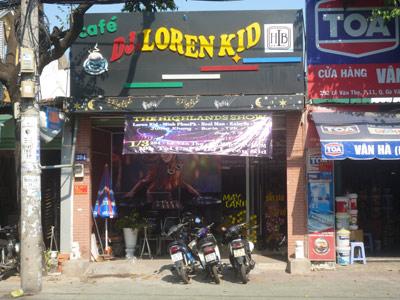 Sang quán cafe DJ Lê Văn Thọ, Q.Gò Vấp