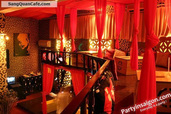 Sang quán cafe nhạc bar & restaurant khu trung tâm quận 1