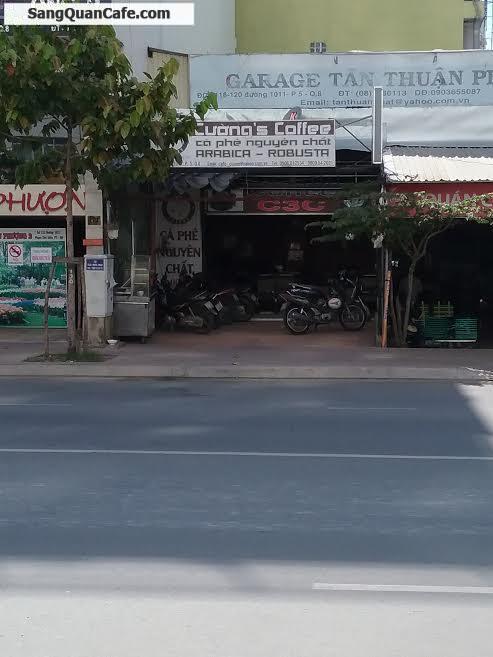 Sang quán cafe ngay ngã 4 Tạ Quang Bửu