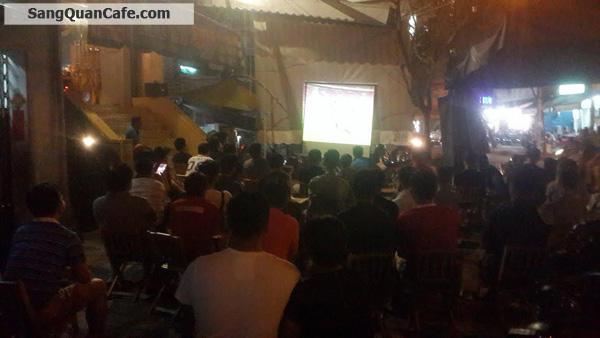 Cần sang quán cà phê Rạch Bùng Binh