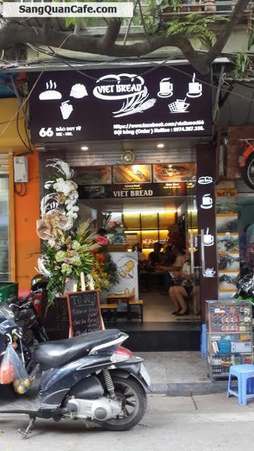 Sang nhượng cửa hàng đồ ăn nhanh – café