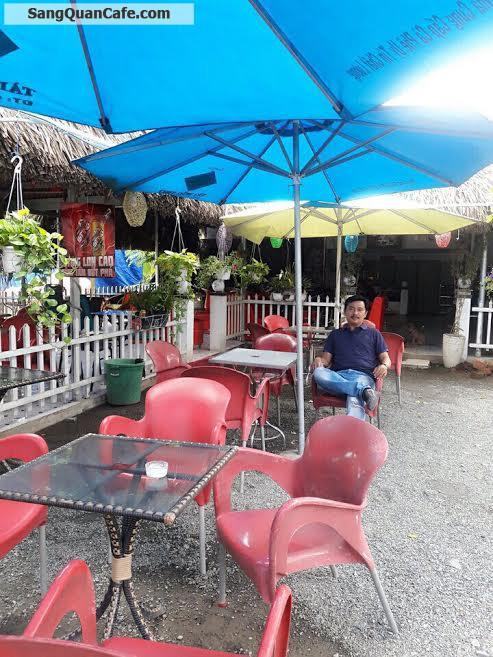 Sang quán cafe sân vườn + điểm tâm sáng