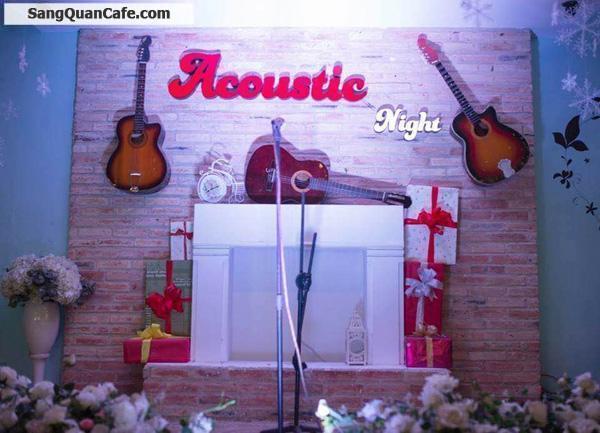 Cần sang quán cafe sân vườn, máy lạnh view đẹp, nhạc Acoustic