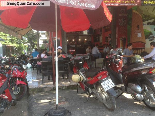 Sang Cafe Thương Hiệu Nguyên Chất góc 2 MT quận Tân Phú