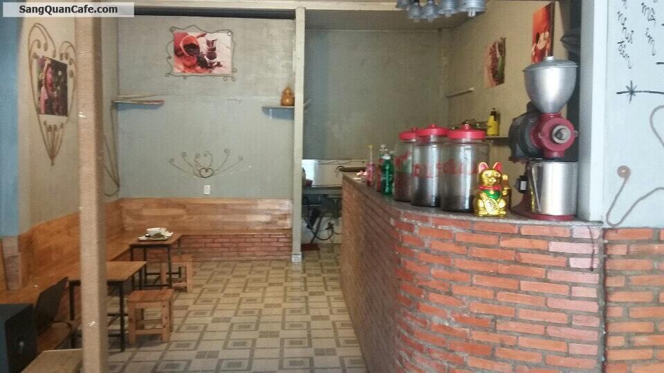 Sang quán cafe mặt tiền TX 43 quận 12