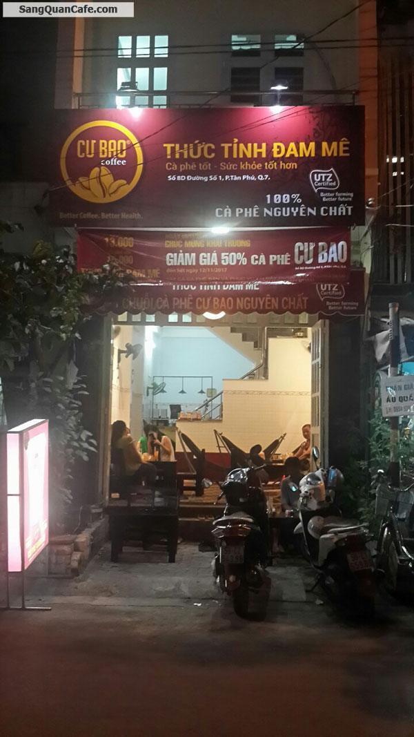 Sang Quán Cafe 8D Đường Số 1, Tân Phú, Q. 7