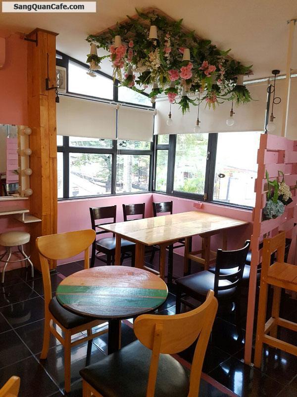 Sang quán cafe trà sữa gần ngã 4 mặt tiền Lý Chính Thắng Q3
