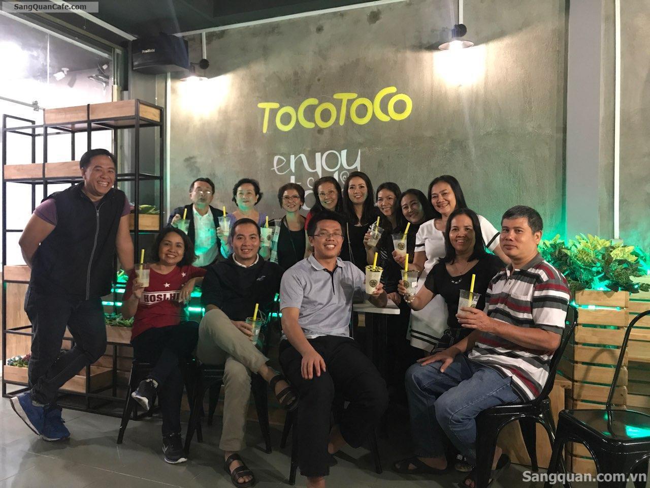 Sang quán Trà sữa thương hiệu nổi tiếng Toco