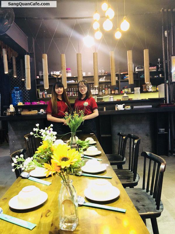 Sang quán ăn cafe cơm trưa VP đường D2 quận Bình Thạnh