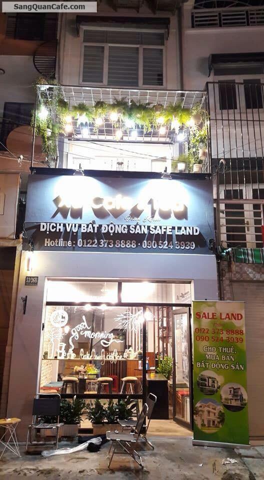 Sang Cafe mặt Tiền Trần Khánh Dư