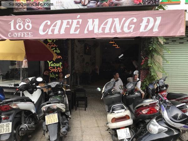 Sang Cafe đường Rạch Bùng Binh