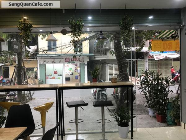 Sang nhương quán coffee đường Trung Liệt