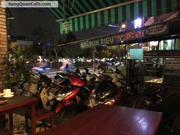 Sang quán Cafe 2 mặt tiền đường Trường Sa