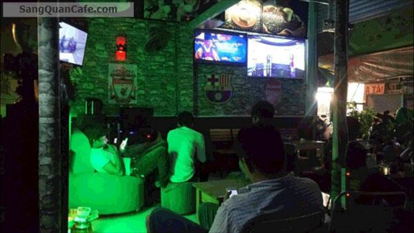 Sang quán Cafe nằm mặt tiền đường Phạm Văn Chiêu