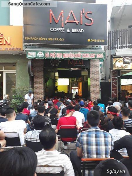 Sang Quán Cafe vị trí đẹp quận 3