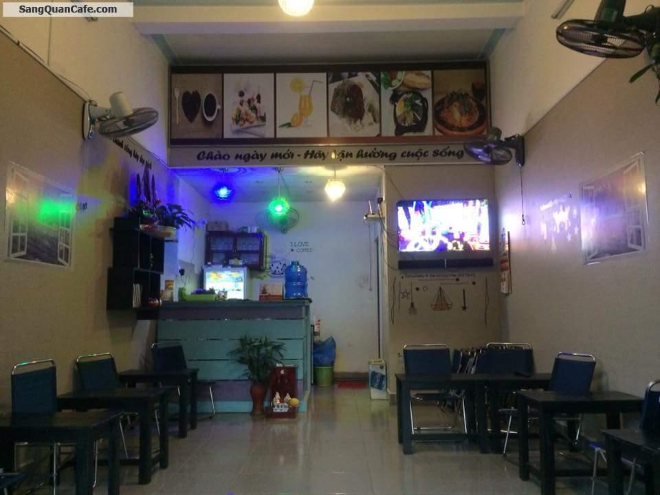 Sang hoặc cho thuê quán cafe đường Lê Thị Trung