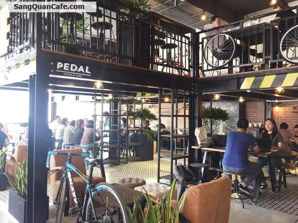 Sang gấp nhà hàng cafe PEDAL - Bistro & Cafe