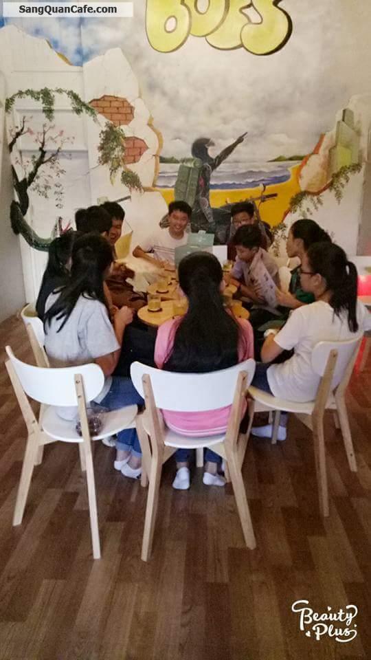 Sang quán cafe trà sữa mặt tiền Lê Hồng Phong