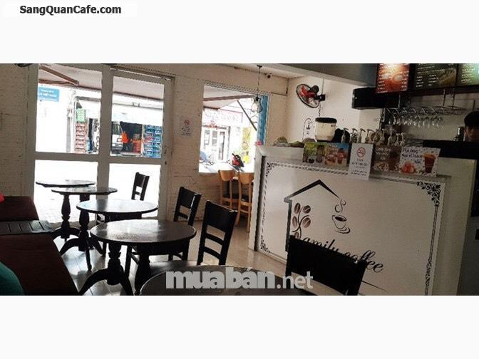 Sang quán cafe ngay trung tâm Q. 3