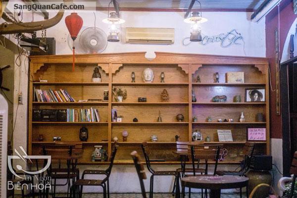 Sang quán cafe pha máy, trà trái cây