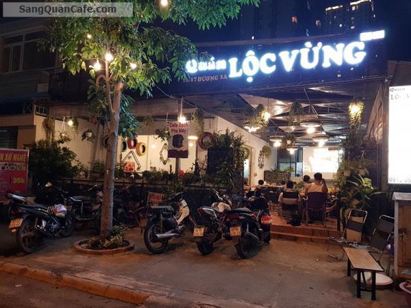Sang gấp Quán cafe Cơm văn phòng mặt tiền công viên Tân Hưng