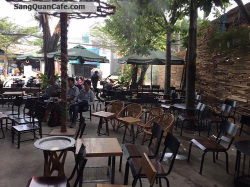 Sang quán cafe sân vườn Mặt Tiền Đường Vườn Lài