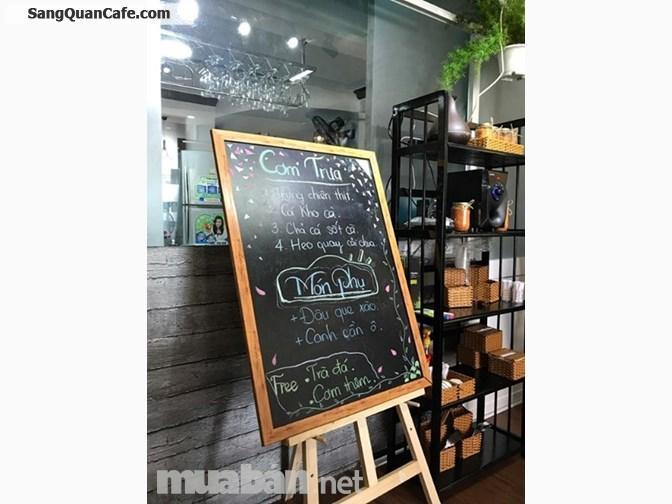 Sang gấp quán cà phê cơm trưa văn phòng máy lạnh, có khách ổn định.