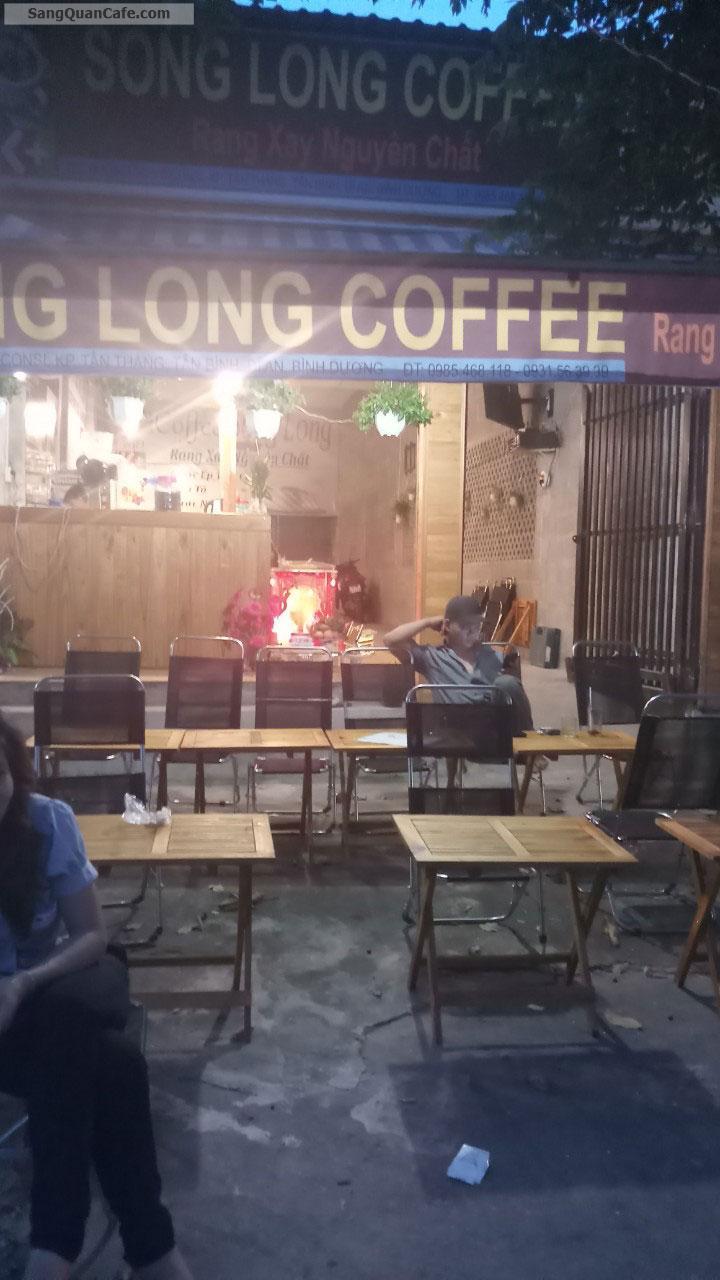 Cần sang gấp quán cafe đang hoạt động tốt
