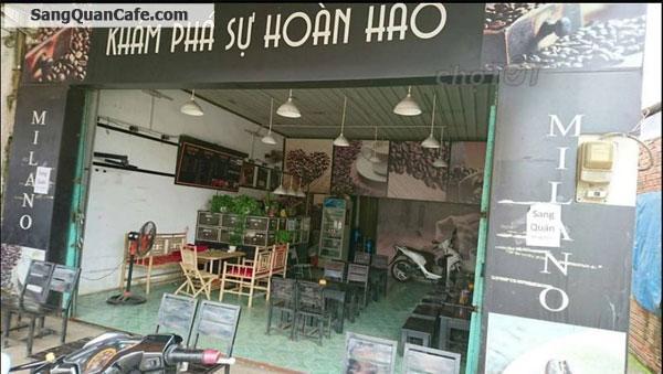 Cần sang quán Cafe Milano, hoặc cho thuê kinh doanh cafe