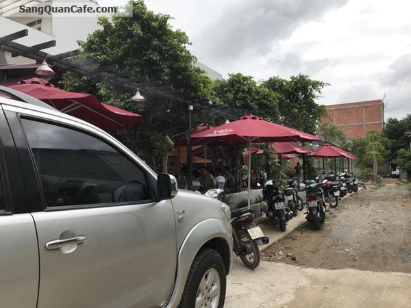 Sang gấp quán cafe sân vườn góc 2 mặt tiền mặt bằng siêu rẻ gần metro Q. 12