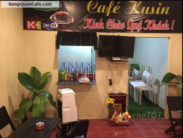 Cần sang quán cafe nằm tại trục đường DT743
