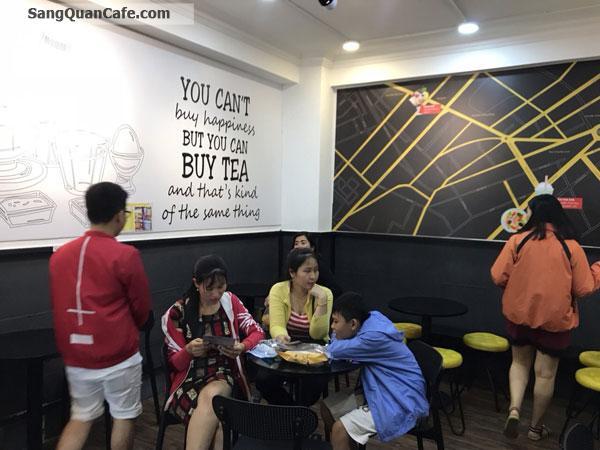 Sang Quán trà sữa mặt tiền 87 Nguyễn Thái Học, quận 1