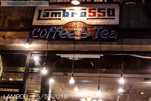 Sang quán Cafe LamBro Coffee & Tea quận 3