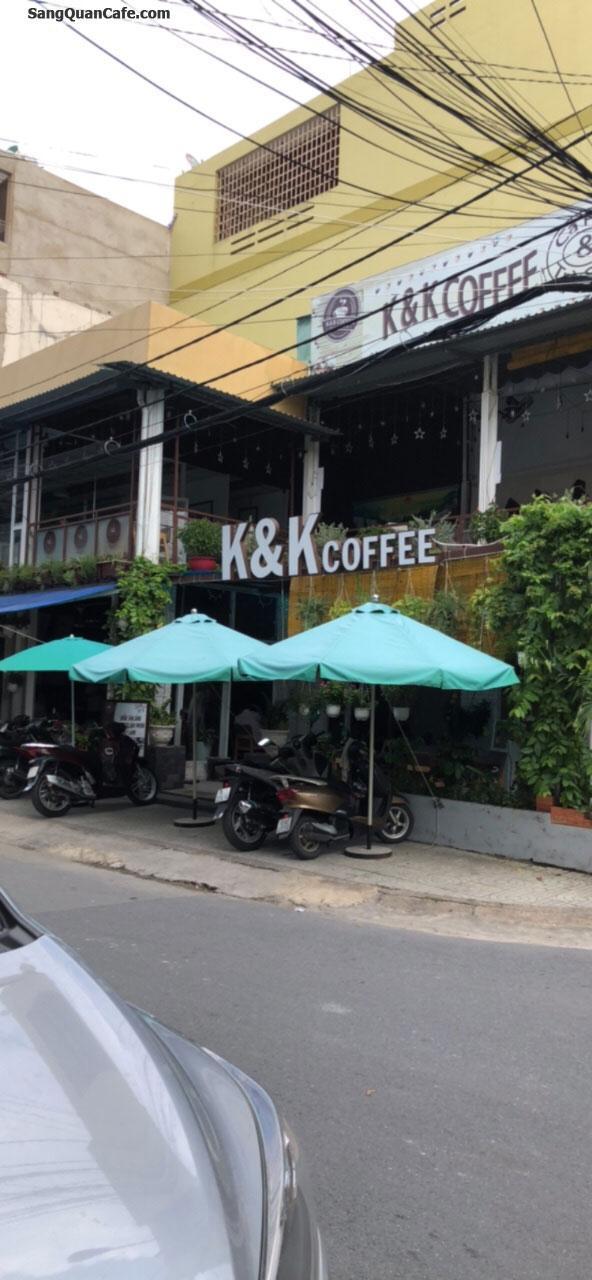 Sang nhượng quán cafe, trà sữa, kem 2 mặt tiền