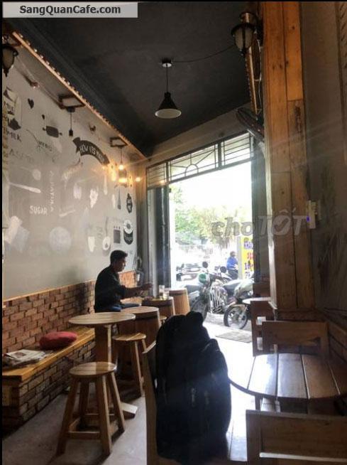 Sang quán cafe mặt tiền Cao Thắng nối dài