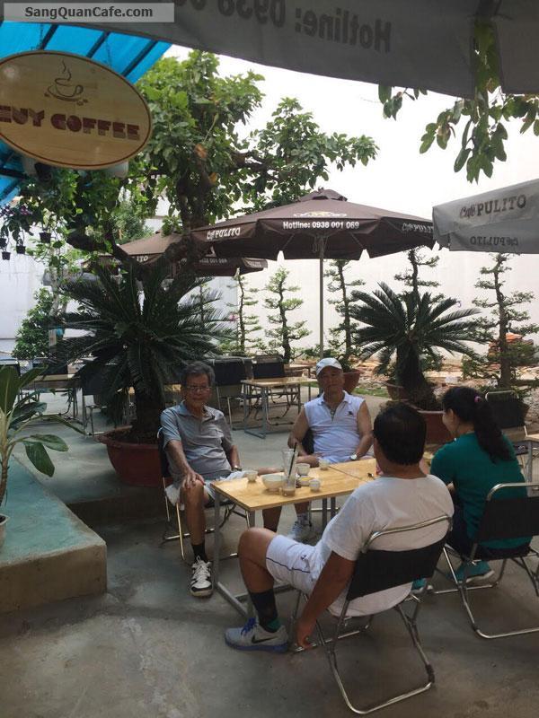 Sang Cafe Sân Vườn-Cơm VP ( 10m x 18m ) Giá 9 tr