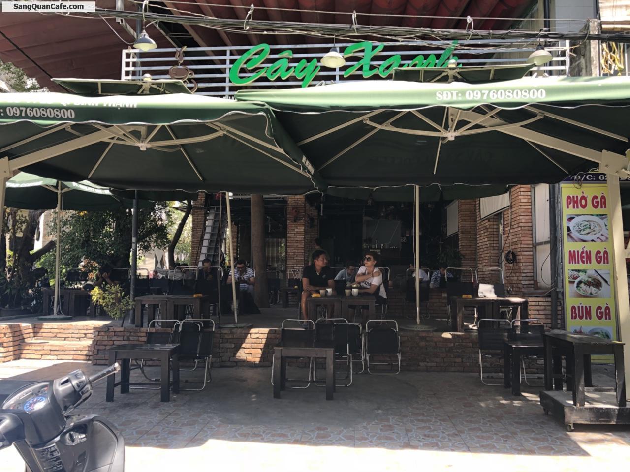 Cần sang cafe sân vườn - bida , vị trí đẹp, 2 MT đường, diện tích 168