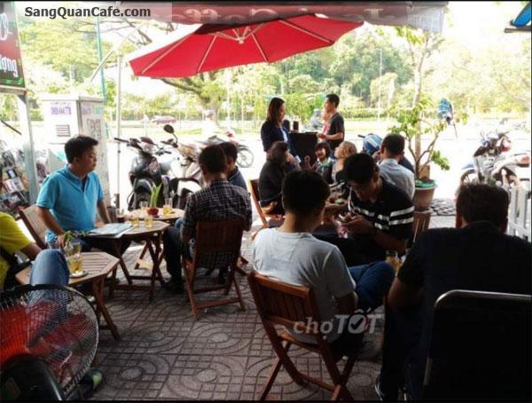 Sang quán cafe giá rẻ đường nguyễn Thái Sơn
