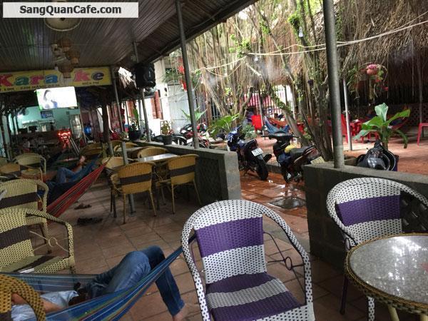 Sang gấp quán cafe sân vườn chòi võng Thuận An