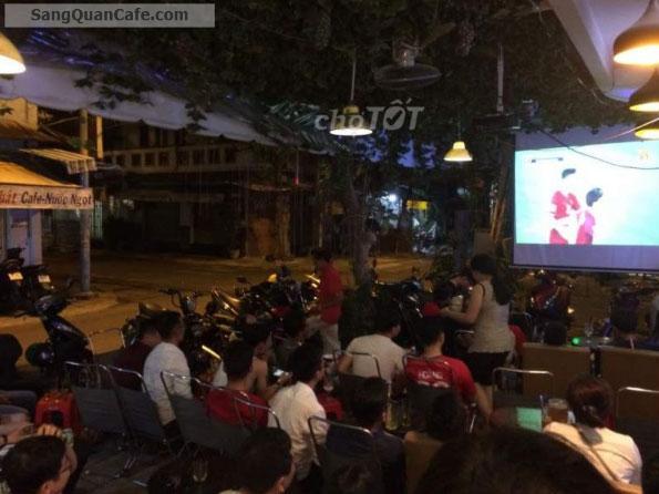 Sang quán cafe Góc 2 mặt tiền đang kinh doanh có lượng khách đông
