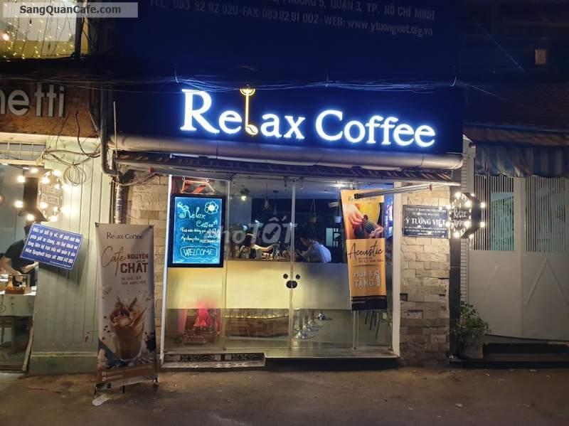 Sang nhượng quán cà phê Trung Tâm Quận 3
