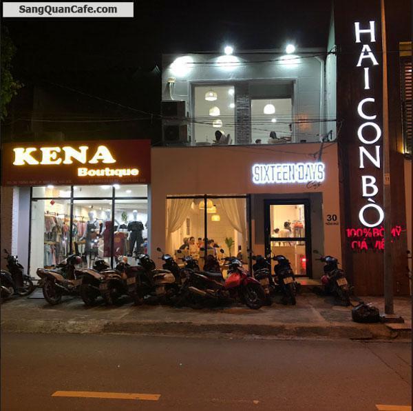 Sang quán café rất tâm huyết tại tuyến đường hot quận TĐ