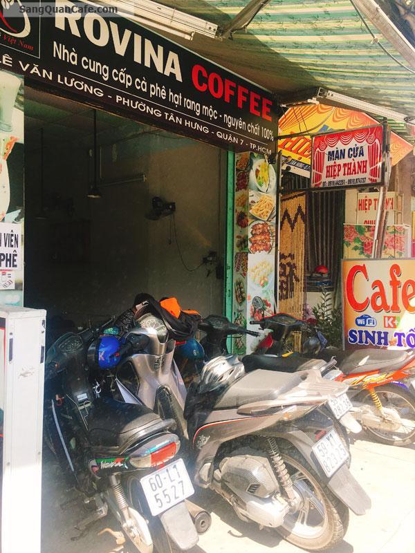 Sang quán cafe đẹp , Giá rẻ đang đông khách