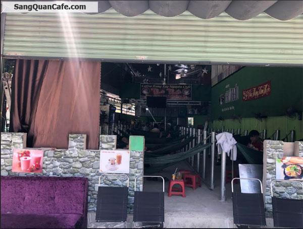 Sang quán cafe Võng 2 mặt tiền trung tâm Phường 10 Quận 6
